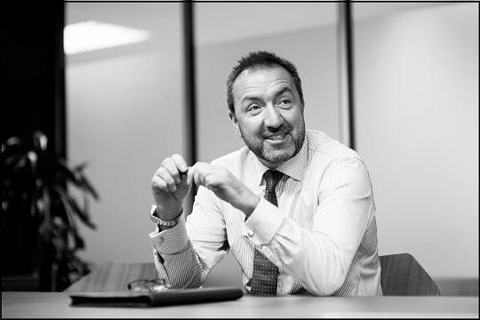 Managing Director of GS Group, George Stubbs